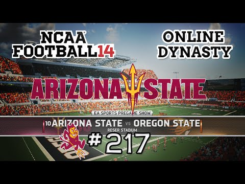 NCAA Football 14: Online Dynasty - E217 | S8G4 vs Oregon State Beavers(Conference Game)