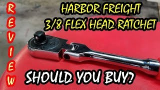 A Black American (Not African) Reviews A Harbor Freight 3/8 Ratchet