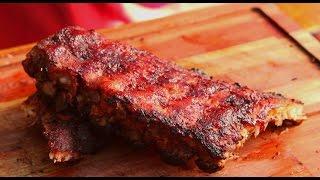 costillas de cerdo con salsa picante receta locos x el asado