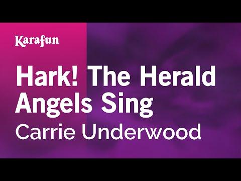Karaoke Hark! The Herald Angels Sing - Carrie Underwood *