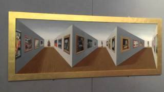 This is an amazing piece of 3D art where the closest part of the pi...