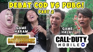 DEBAT COD VS PUBG PART 2 NGAKAK!!! - ALDI TV