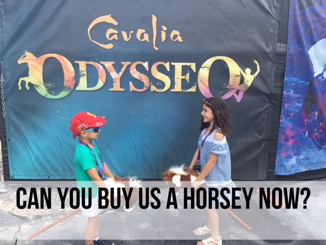 Can you buy us a Horsey now?