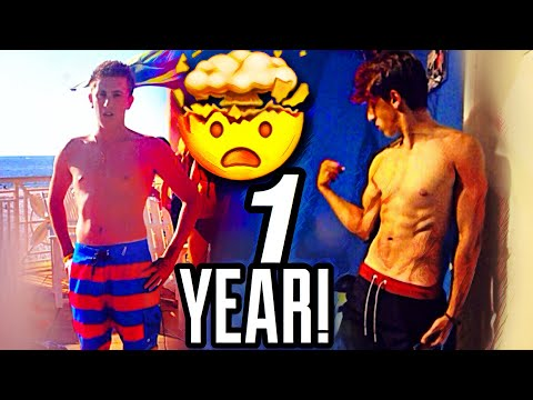 i-got-my-dream-physique-at-17-years-old!-1-year-on-keto-+-bodybuilding!-(body-transformation-2020)