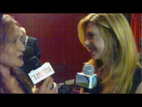 Intervista a Benedicta Boccoli  Premio penisola sorrentina per lo spettacolo