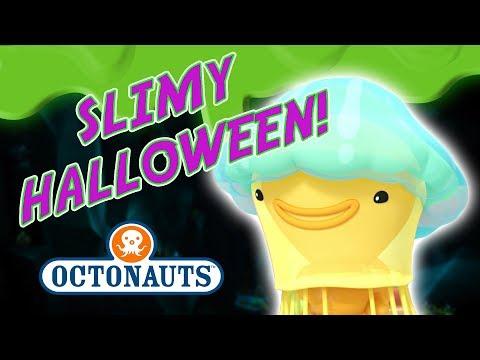 Octonauts - It's a Slimy Halloween! | Jiggly Jellyfish