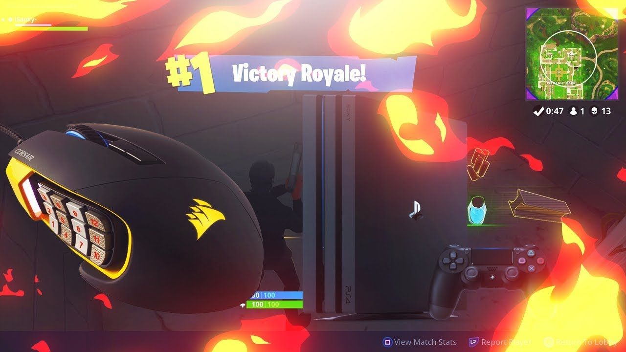 Fortnite on PS4 and Corsair Harpoon - The Corsair User Forums