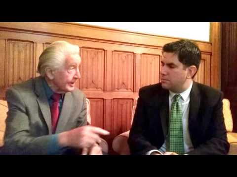 Discussing the Labour leadership with Dennis Skinner