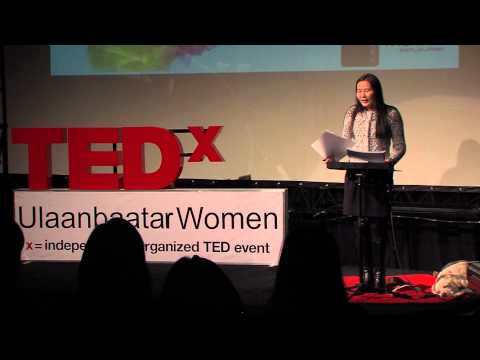 Understanding and acceptance in a challenging world: Uyanga Erdenebold at TEDxUlaanbaatarWomen