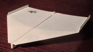 Sky King World Record Paper Airplane Test Flight