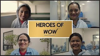 A Salute to The Wonder Women Of WOW Skin Science. You make us proud.