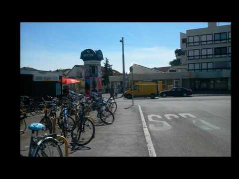 Bildimpressionen Stuttgart Bushaltestelle Plieningen Universität Hohenheim