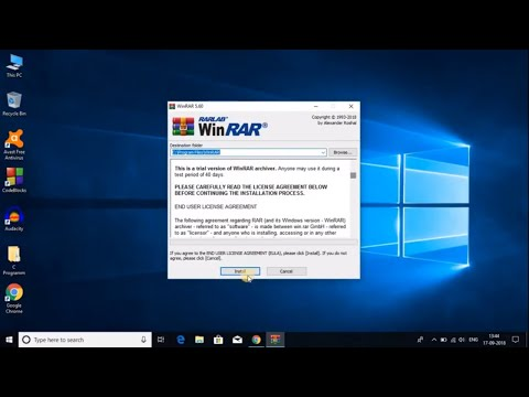 How To Download WinRAR For Free Windows 10