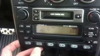DSound - How connect USB interface to original Lexus IS200 car radio ?