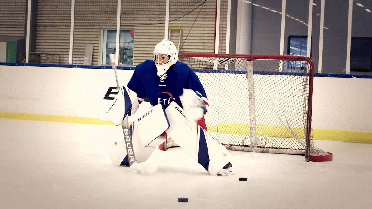BAUER Supreme 2S PRO Goalie equipment test with Hockeygear