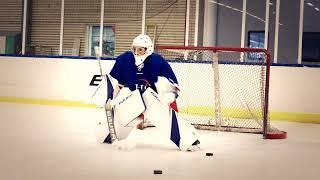 BAUER Supreme 2SPRO Goalie equipment test with Hockeygear