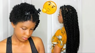 INDIVIDUAL CROCHET TWIST ON SHORT 4C NATURAL HAIR |BeautyWithPrincess
