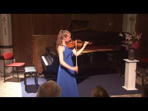 Hawijch Elders plays Paganini 'Nel cor più non mi sento'