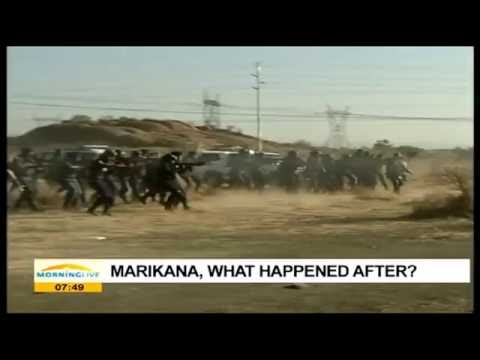 Talking Marikana 4 years on with Mwananyanda, pt1