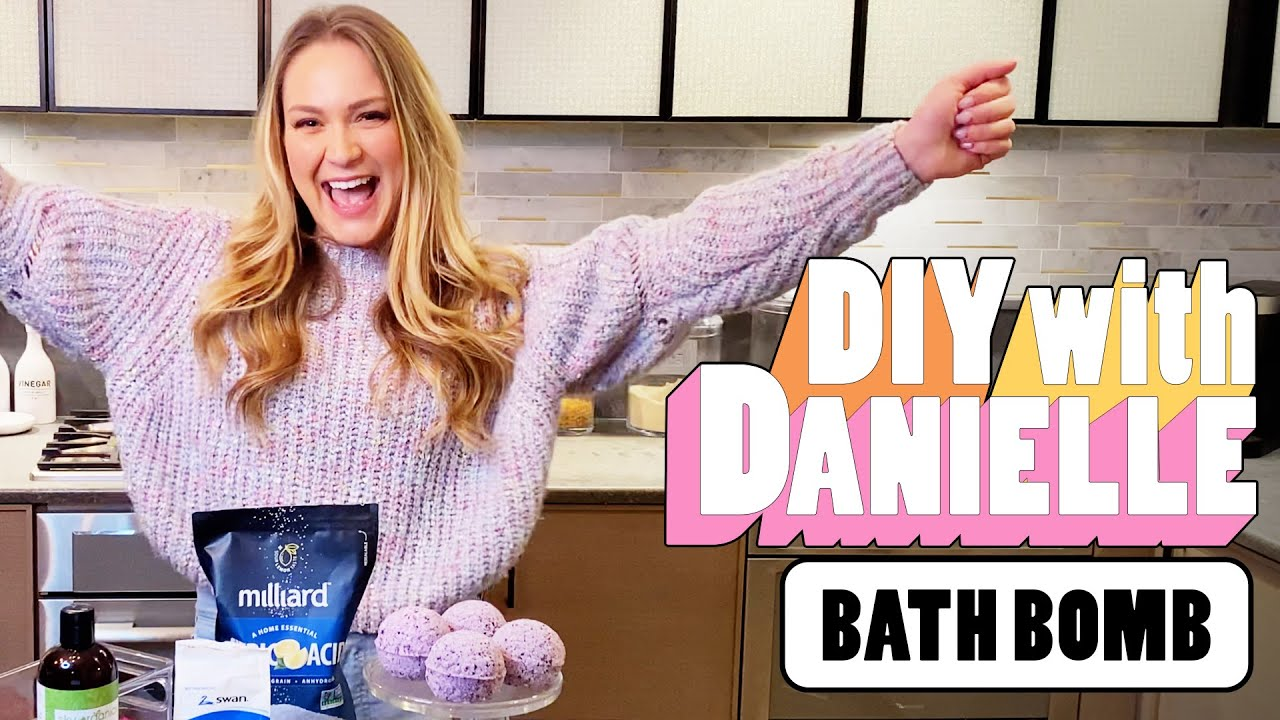 How To DIY Your Own Bath Bombs | DIY With Danielle | Seventeen