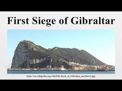 First Siege of Gibraltar