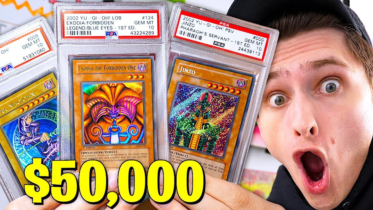 I Bought $50,000 Of The RAREST Yugioh Cards (rarer than charizard)