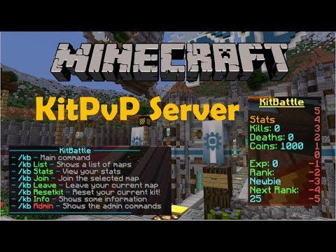 Rumaisa Peck: Minecraft Kit Pvp Server List