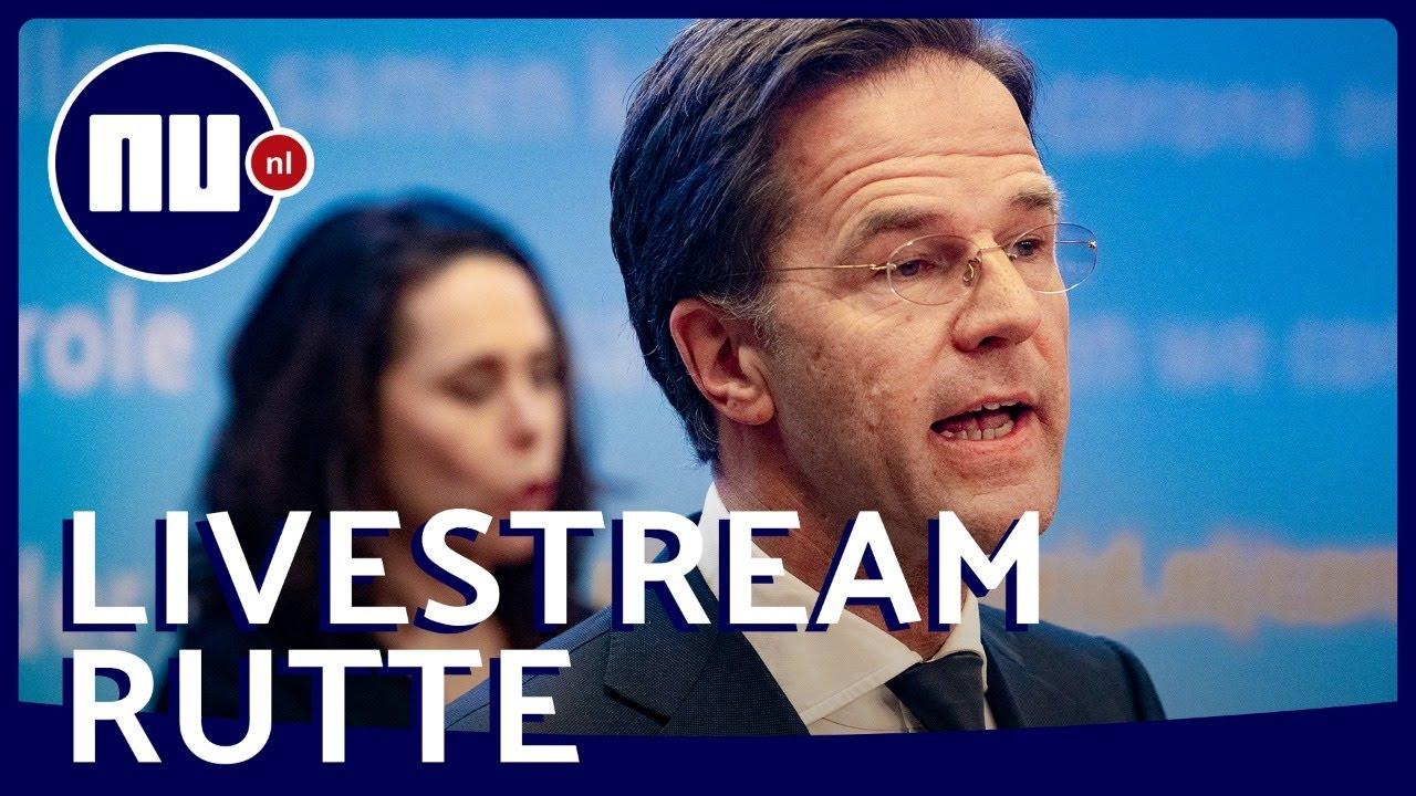 Bekijk Live De Persconferentie Van Rutte Over De