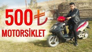 500tlye motorsklet toplama