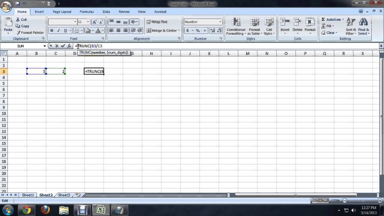 How to Drop Decimal Places Without Rounding in Microsoft Excel : Tech Niche