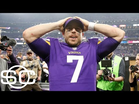 Minnesota Vikings have tough decisions to make with QB situation | SportsCenter | ESPN