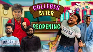 Colleges After Reopening | Funcho