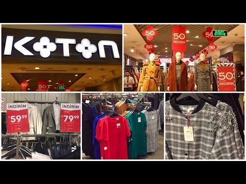 Турция 2020. СКИДКИ 50% в магазине КОТОН. Зимняя и летняя женская одежда.👗👖🧤🎒👕👢