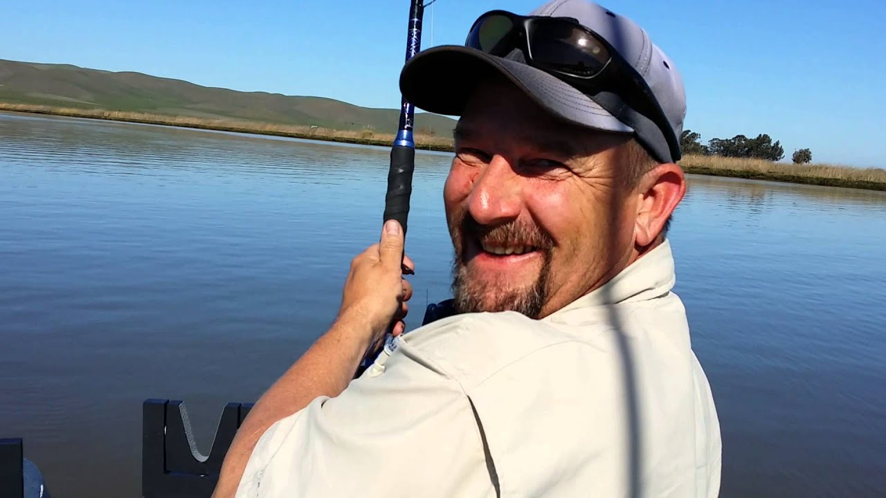 sturgeon fishing montezuma slough 2 23 14 youtube