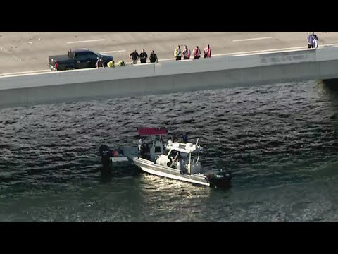 Kevin Campbell - Vehicle Overturns Off Howard Frankland Bridge, Sends SUV& Driver Into Water