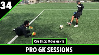 Recovery Movements & Angle Shot Stopping | Goalkeeper Training | Pro Gk Sessions