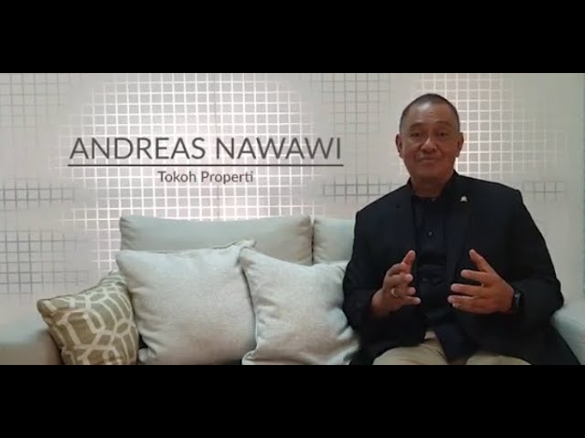 Testimoni Para Tokoh Properti tentang Golden Properti Awards Bapak Andreas Nawawi