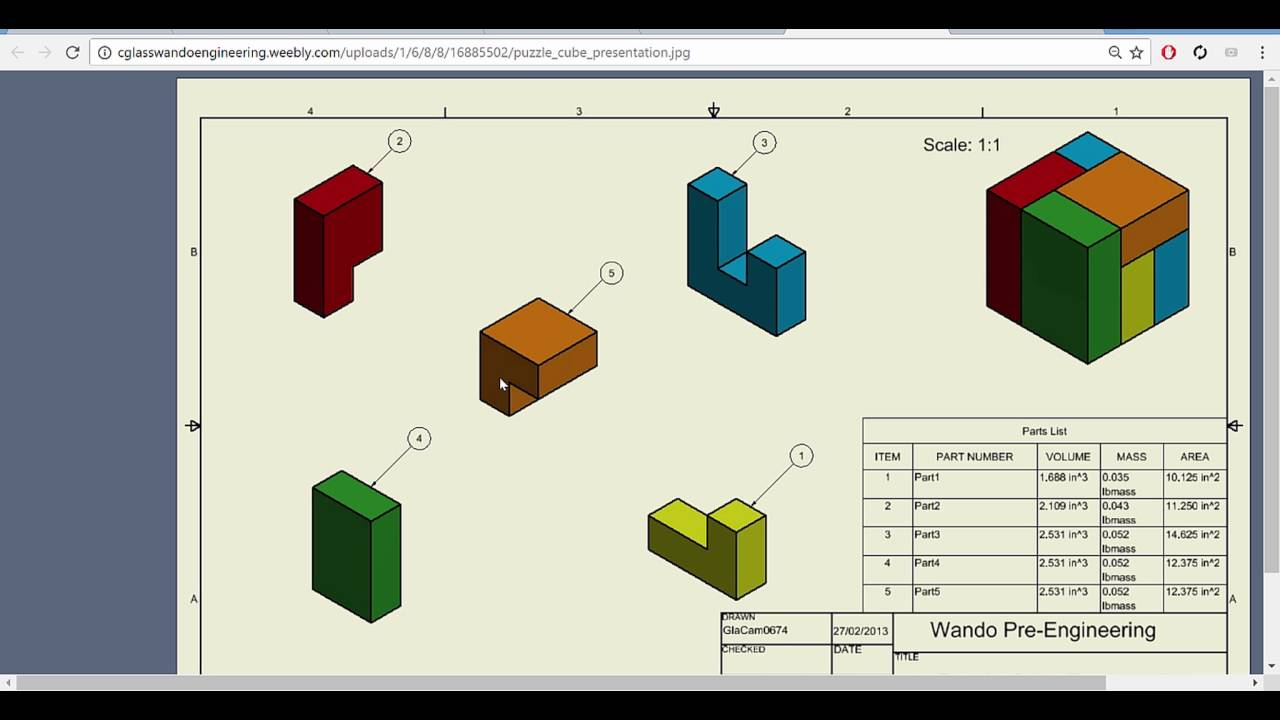 The puzzle cube project part 2 autodesk inventor 2017 youtube the puzzle cube project part 2 autodesk inventor 2017 ccuart Image collections