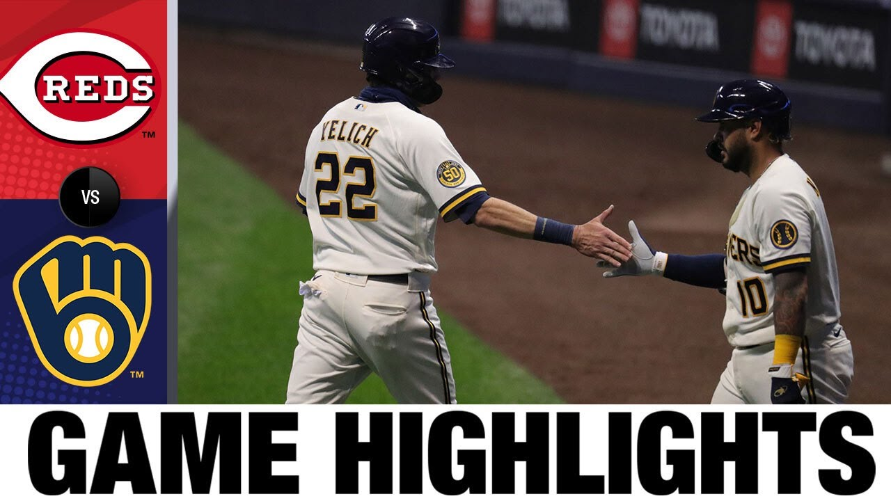 Woodruff fans eight in a big 3-2 win | Reds-Brewers Game Highlights 8/25/20