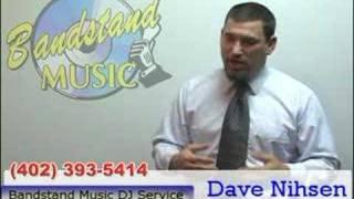 Omaha wedding dj Dave from Bandstand Music DJ service