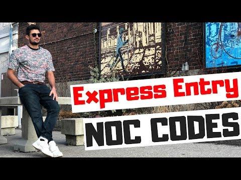 NOC Code For Canada Express Entry 2019 | NOC 0 A B (Canada PR #3)