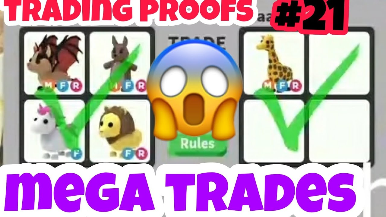 Mega Successful Trading Proofs In Adopt me Trading And Giveaway
