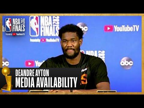 Deandre Ayton #NBAFinals Media Availability | July 10th, 2021