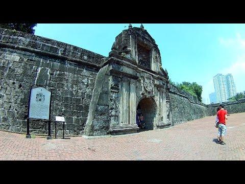 Sightseeing Manila: FORT SANTIAGO