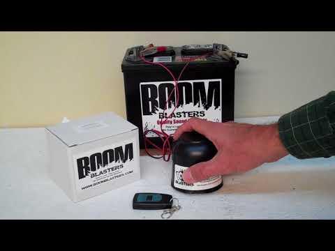 Halloween Sounds - Evil Laughing Man Sounds Car Horn #1 Wireless