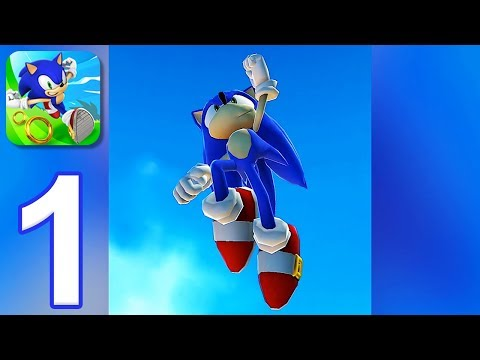 Sonic Dash - Gameplay Walkthrough Part 1 - All Bosses (iOS, Android)