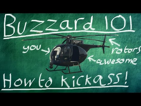 GTA Online Guides - How To Fly The Buzzard Like A Pro