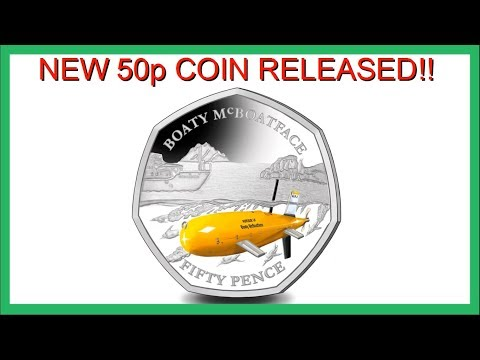 *NEW* BOATY McBOATFACE 50p COIN AVAILABLE!! || POBJOY MINT || 2018 VIDEO