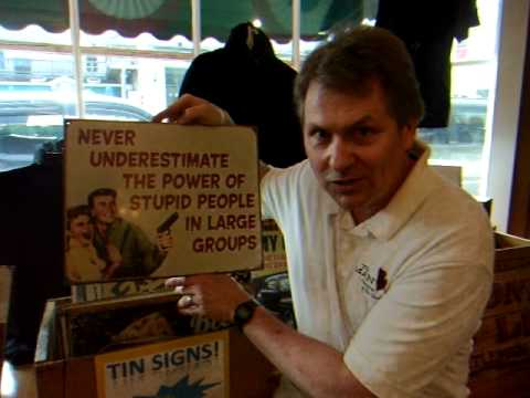 Man Store: Tin Signs