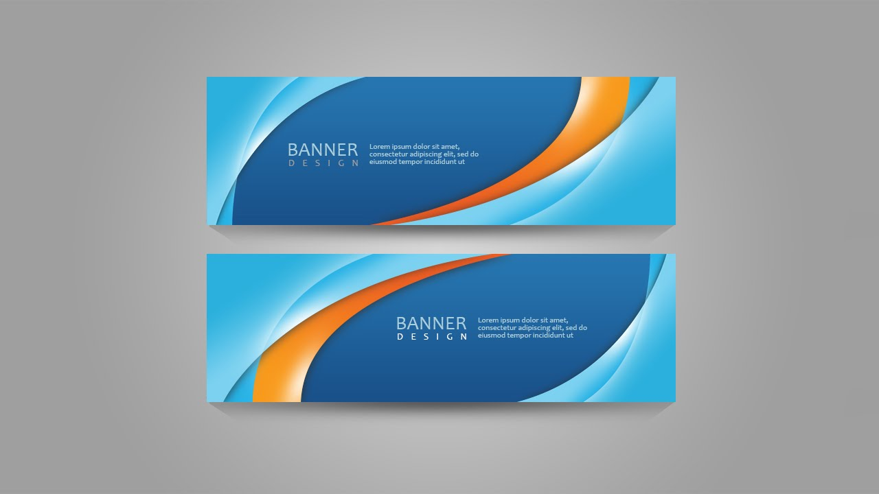 photoshop tutorial banner abstract
